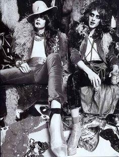 New York Dolls. Glam boys forever!