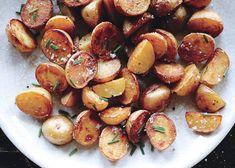 Crispy Salt-and-Vinegar Potatoes Recipe | Bon Appétit