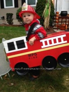 Sound The Alarms !! It's a Firefighter Family Costume Affair