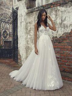 Wedding Dresses   Abbott's Bridal   Canton, OH Bridal Boutique Elegant Wedding Gowns, Lace Wedding Dress, Custom Wedding Dress, Dream Wedding Dresses, Bridal Dresses, Bridesmaid Dresses, Dress Prom, Wedding Outfits, Making A Wedding Dress