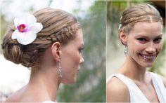Alyssa Sutherland Braided Up Wedding Do by Lisa Allen.