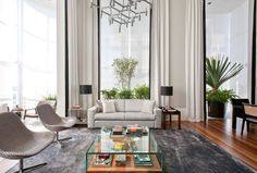 An Elegant Interior by Marcelo Mota Arquitetura | HomeDSGN, a daily source for inspiration and fresh ideas on interior design and home decoration.
