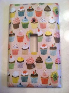 Cupcake Home Decor Custom Light Switch Plate Cover Choose Your Own Size | eBay