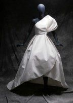 The shape of the skirt... Heck, the shape of the whole dress- drama!