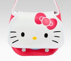 An image of Hello Kitty Lunch Bag: Face Hello Kitty Bag, Hello Kitty Items, Hello Kitty Birthday, Sanrio Hello Kitty, Hello Hello, Hello Kitty Kitchen, Hello Kitty Images, Loot Bags, Girls Bags