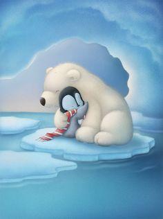 polar bear and penguin hive.jpg