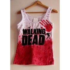 Blizniak Twd the Walking Dead Top T-Shirt ($16) ❤ liked on Polyvore featuring tops, t-shirts, grey, women's clothing, logo tee, grey t shirt, logo shirts, grey tee and grey shirt