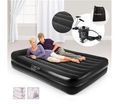 Bestway Inflatable Mattress Queen with Air Pump /Built-in Pillow