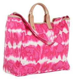 Juicy Couture Beach Tye Dye Canvas Tote