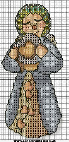 Cross Stitch *♥* SCHEMA ANGELO THUN 1