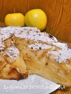 Bada che dolce mi è venuto in mente di fare stasera?🍏 Era un dolce che avevo già fatto un'altra volta e mi ricordavo che era riuscito . ✫♦๏༺✿༻☘‿SU Jul ‿❀🎄✫🍃🌹🍃🔷️❁`✿~⊱✿ღ~❥༺✿༻🌺♛༺ ♡⊰~♥⛩⚘☮️❋ Best Italian Recipes, Favorite Recipes, Apple Recipes, Sweet Recipes, Fun Desserts, Dessert Recipes, Pasta Restaurants, Apple Deserts, Confort Food