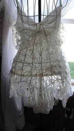 Gypsy Boho bohemian shabby chic top or dress by SummersBreeze