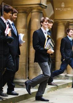 Boarding School Aesthetic, Private School Uniforms, School Prospectus, Trailer Park, Winchester College, British Schools, College Boys, Preppy Men, Old Money