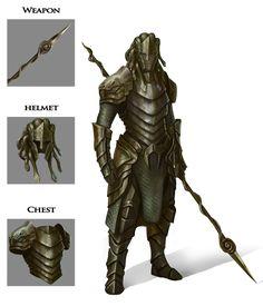 Medusa Armor Design by BABAGANOOSH99