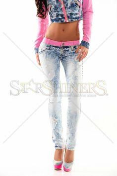 Jeans Mexton Distinct Illusion Pink