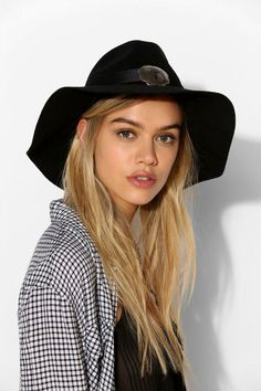 UNIF Concho Panama Hat #urbanoutfitters