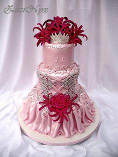 svadobná v ružovom