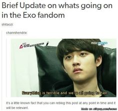 when will exo and exol get their peace tbh | allkpop Meme Center