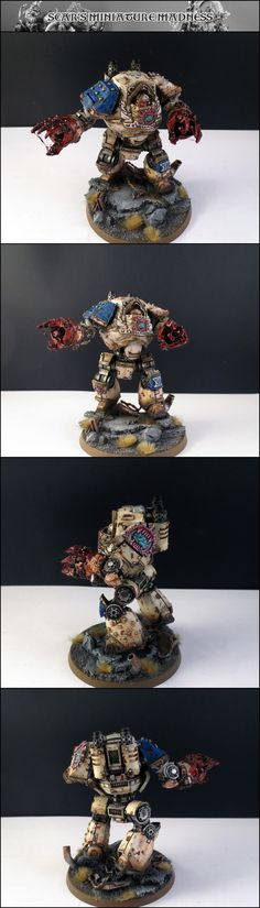 World Eaters Contemptor - by Scar