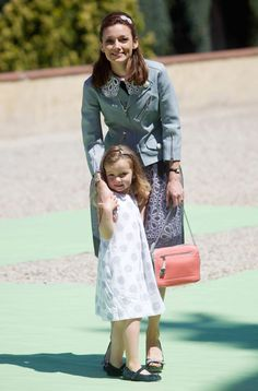 """""""Princess Aimee of the Netherlands with daughter, Princess Magali - 18/06/12""""  Daughter in law and granddaughter of my favorite, Princess Margriet"""