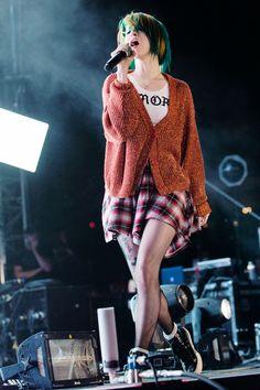 Hayley at Wango Tango fest