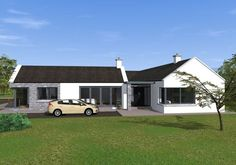 design ideas bungalow Traditional Style Bungalow with Contemporary Features – Traditional Style Bungalow with Contemporary Features – Modern Bungalow House Plans, Modern Bungalow Exterior, Barn House Plans, Bungalow House Design, Cottage House Plans, Craftsman House Plans, Cottage Homes, Modern House Design, Bungalow Designs