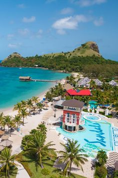 a954c588cd209 Lucian is the largest of three Sandals resorts on St. It s a favorite for  romance