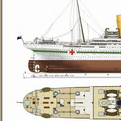 HMHS BRITANNIC. I. WORLD WAR. HOSPITAL SHIP.  HMHS BRITANNIC.  PRIMERA GUERRA MUNDIAL.  BUQUE HOSPITAL.  #ships #followme #cruising #ship #boat #shipping  #barco #sea #sailboat #sail #arquitectura #yacht #yachts #luxury  #titanic  #katewinslet #leonardodicaprio #luxurylifestyle  #london #uk  #megayacht #history  #historia #ocean  #oceano #sailing #marine #boats  #museo #museum by titanic_rms_wsl