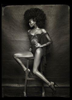 Stella Vaudran Is 'Black Fire' By Pierre Dal Corso for OOB Magazine online June 2013