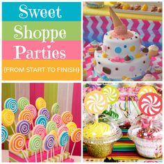 Sweet Shoppe Party ideas