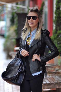 camisa jeans, moda, fashion, como usar, jeans, shirt, look, streetstyle, nati vozza,