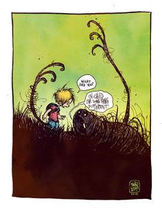 """""""What are you?"""" """"Oh, Child. I'm something different."""" by Skottie Young *"""