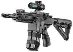 Silver Shadow Gilboa Snake Double Barreled AR-15