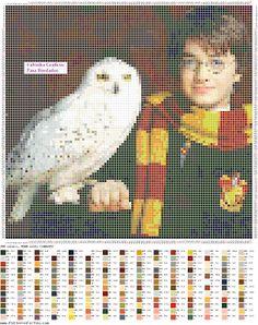 Fabinha Gráficos Para Bordados: Harry Potter