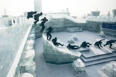 Red Bull's Jason Paul Parkours Through China's Ice City
