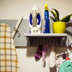 Ironing Board Storage Idea