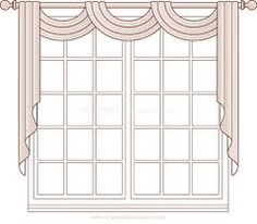 pole swag window treatments - Google Search