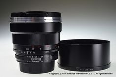 Carl Zeiss Planar T * 85mm f/1.4 ZF for Nikon Excellent+ #Zeiss