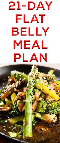 Lose Weight Wisely: 21-Day Flat Belly Meal Plan