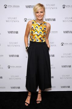 Malin Akerman Photos - Vanity Fair and Stuart Weitzman Luncheon to Celebrate Elizabeth Banks - Zimbio