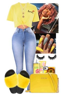 """""""L O V E x S U N S H I N E"""" by officialbratzdoll ❤ liked on Polyvore featuring Casetify, Topshop, Michael Kors, Givenchy, Artémes and Ben-Amun"""