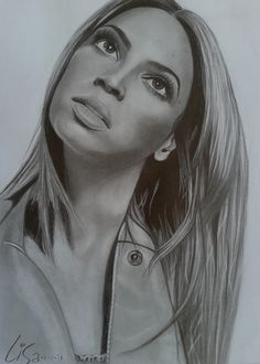 beyonce drawing finished by liesjj traditional art drawings people ...