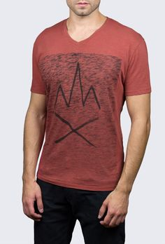Fire Glyph T-Shirt – VESTIGE - Our fire symbol is a brand icon, combining our cotton slub jersey and our own hand drawn artwork - VESTIGE Brand