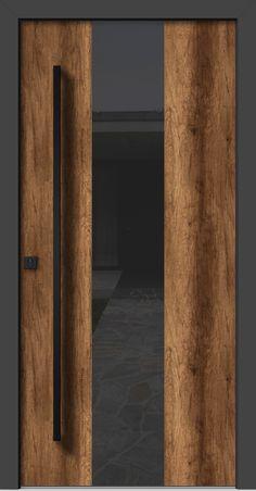 HA 306 HA Rústicas - Puertas y Ventanas de Madera en Puerto Rico - La Casa de Las PuertasSchwarz-Weiß-Küche: 60 Enthusiastische Dekorationsmodelle. Door Design Interior, Main Door Design, Wooden Door Design, Front Door Design, Modern Entrance Door, Modern Door, Entrance Doors, Old Wooden Doors, Wooden Door Hangers