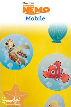 Finding Nemo Fish Counting Game Craft | *Homeschooling ...