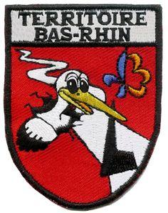 Ecusson Territoire Bas-Rhin