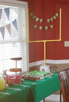 Foodball Superbowl/birthday Party Ideas | Photo 2 of 12 | Catch My Party