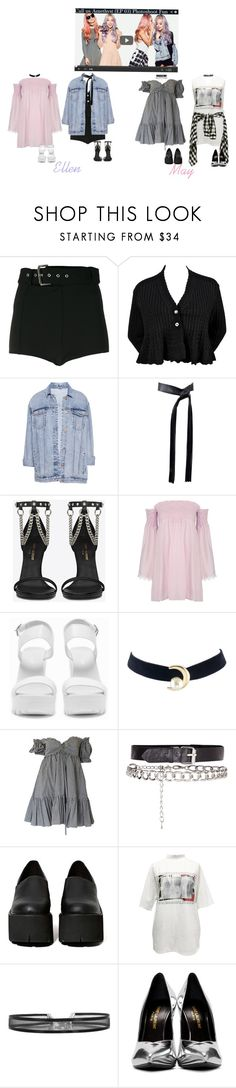 """""""Call Us Amethyst (EP 03)"""" by amethyst-official ❤ liked on Polyvore featuring Versus, Alaïa, Pull&Bear, Michael Kors, Yves Saint Laurent, Nly Shoes, Moschino, Jeffrey Campbell and M.Y.O.B."""