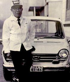 The man who understood the power of dreams. Honda the most upvoted post on r/Honda! Honda Bikes, Honda Cars, Steve Brown, Soichiro Honda, Mini Bike, Honda Civic, Vintage Japanese, Cars And Motorcycles, Vintage Cars