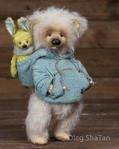 323 отметок «Нравится», 5 комментариев — TedsbyCom (@tedsbycom) в Instagram: «Bear and bunny - Friends byOleg ShaTan»